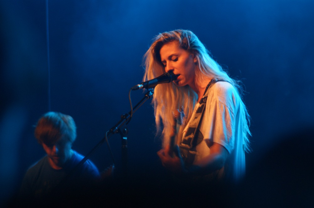 Alicia Bognanno of Bully, the opener for Best Coast at the Observatory North Park, June 26, 2015