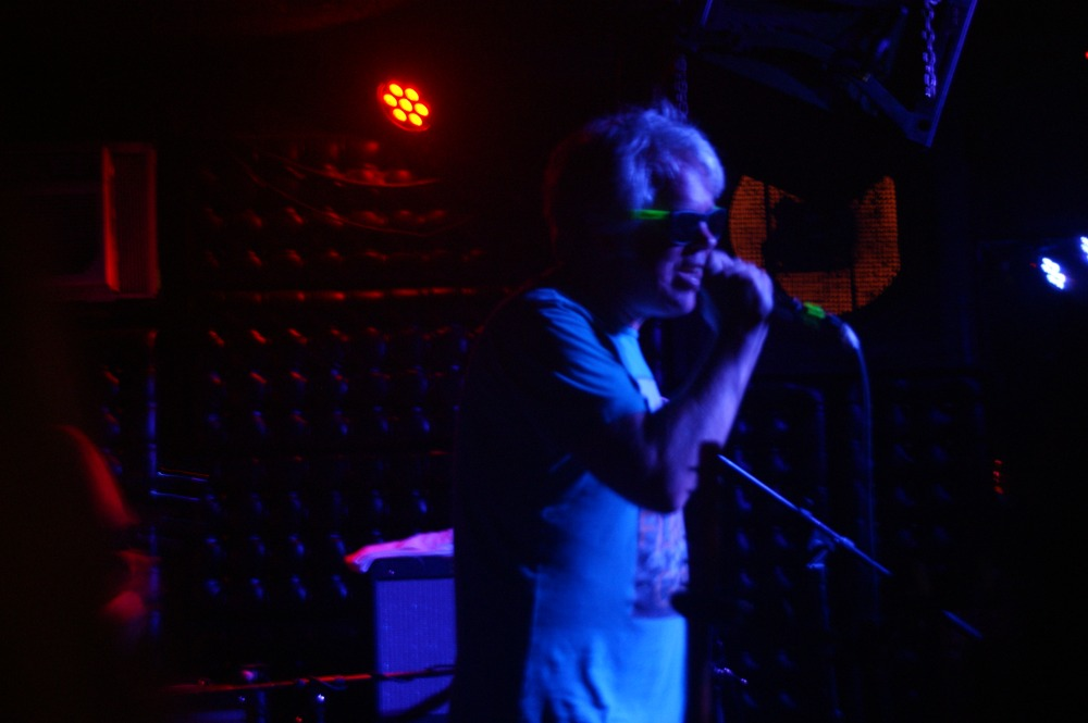 "Unknown Mortal Orchestra's tour manager singing ""War Pigs"" at the Casbah, August 7, 2015 