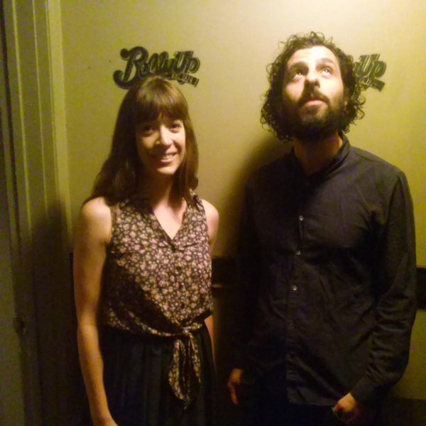 Lara McCaffrey with Jose Gonzalez